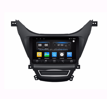 For Hyundai For Elentra CAR GPS Navigation Radio Audio Video Multimedia System