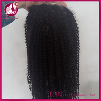 The latest aliexpress burmese hair materials for making wig afro kinky curl hair full lace wig