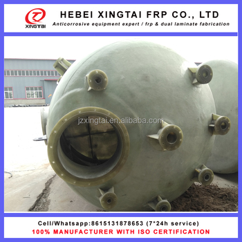 Factory price frp chemical resistance tank