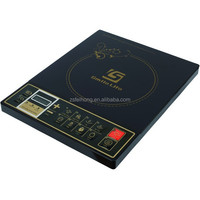 induction stove, induction heater with ceramic decoration