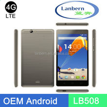 Mobile phones manufactory for MT6735M/MT6735P 5 inch screen smartphone oem cell phone fdd lte LB508