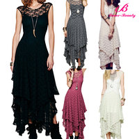 5 Colors Party Ladies Fancy Maxi Dress Wholesale Fast Shipping NO MOQ