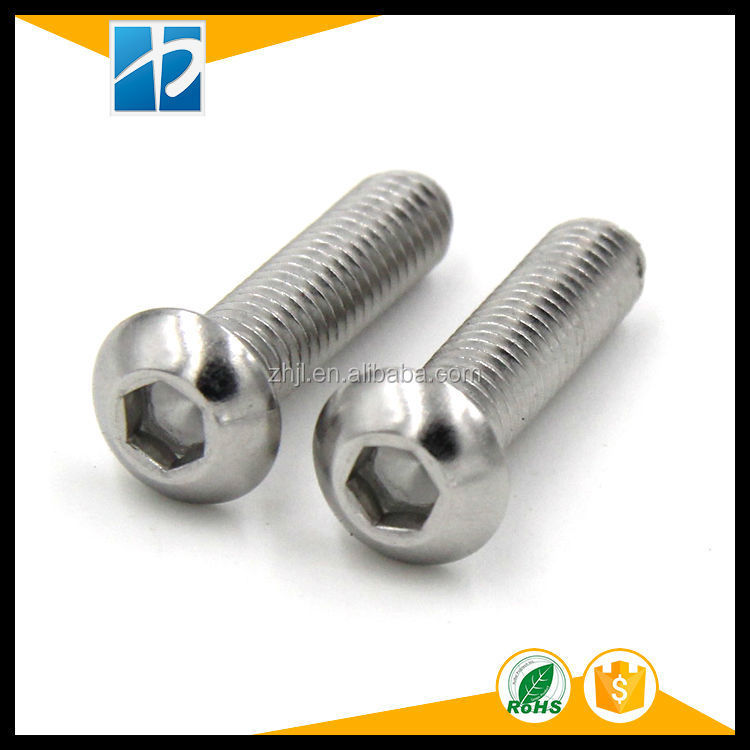 ISO7380 Stainless Steel Hexagon Socket Pan Head <strong>Screws</strong>