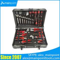 132 Pcs Aluminium Case Tool Set