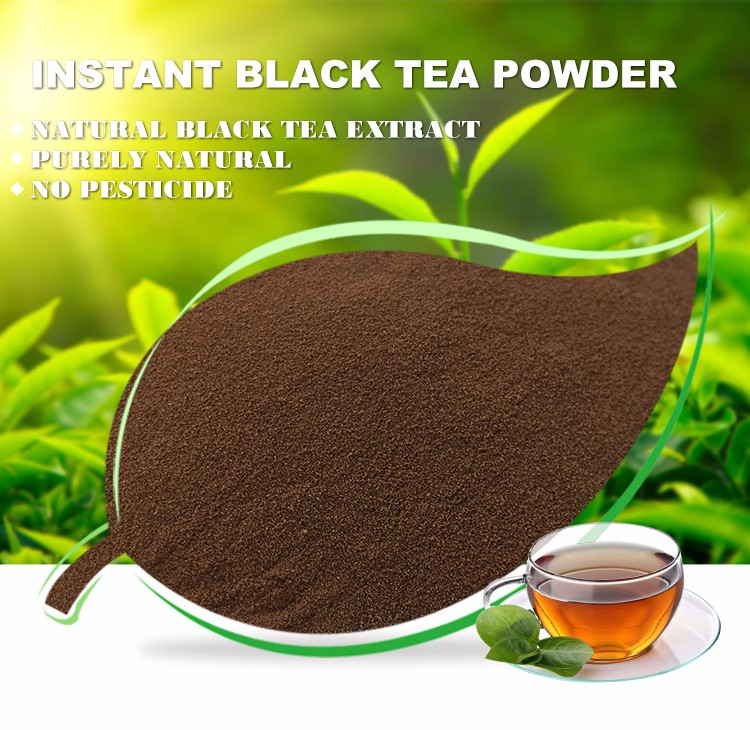 2016 Good quality low calorie slimming Instant black tea powder