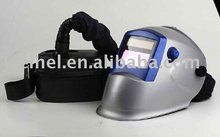 (welding mask with CE approval) Powered Air Purifying Solar Auto-Darkening Welding Helmet Welding Mask(WHAD801)