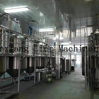 raw material or crude Vegetable oil refinery equipment machine