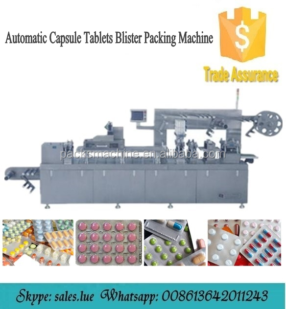 Full automatic capsule tablet blister packing machine