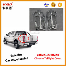 * Super Quality ALL NEW 2016 D-MAX taillight cover for isuz d-max parts abs plastic d-max accessories isuz d-max abs chrome