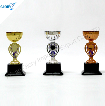 the best plastic trophy cup with metal award