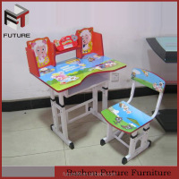 Alibaba express children study desk furniture made in China
