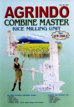 Combine Rice Milling Machine Model ACM-1000F
