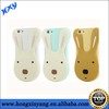 rabbit silicone case for iphone with BV certificate