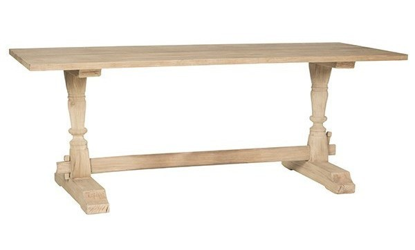 Mrs Woods High Quality Rectangle Dining Table