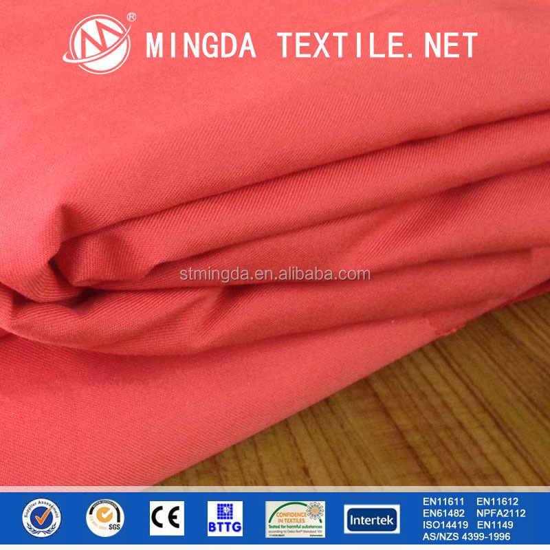 anti fire nomex iiia twill fabric for flame resistant workwear