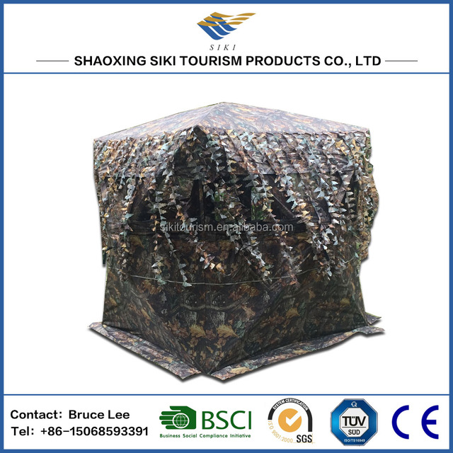 camouflage shelter hunting tent