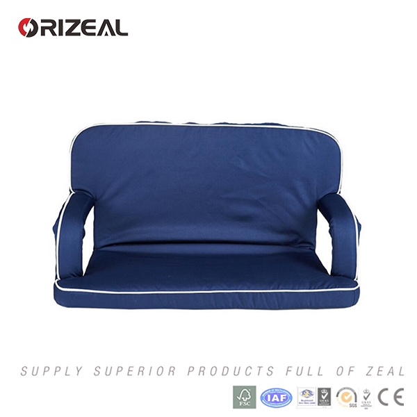 orizeal Portable Comfort Recliner Football double folding Stadium Seat