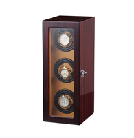 open stop watch winder 3 with Adjustable Watch Pillow,Plenty of Space for Large Watches