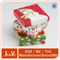 patterned 5x7 cardboard paper gift box for business card