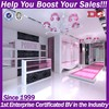 Fashionable boutique store furniture/boutique display rack clothing store boutique rack