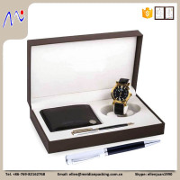 Leather Wallet Box, Watch Gift Box, Pen Case