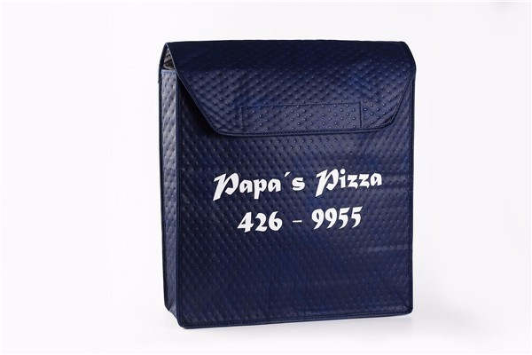 Insulated cooler bag pizza bag food delivery bag