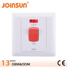 86mm x 86mm white body CE waterproof emergency stop pushbutton switches
