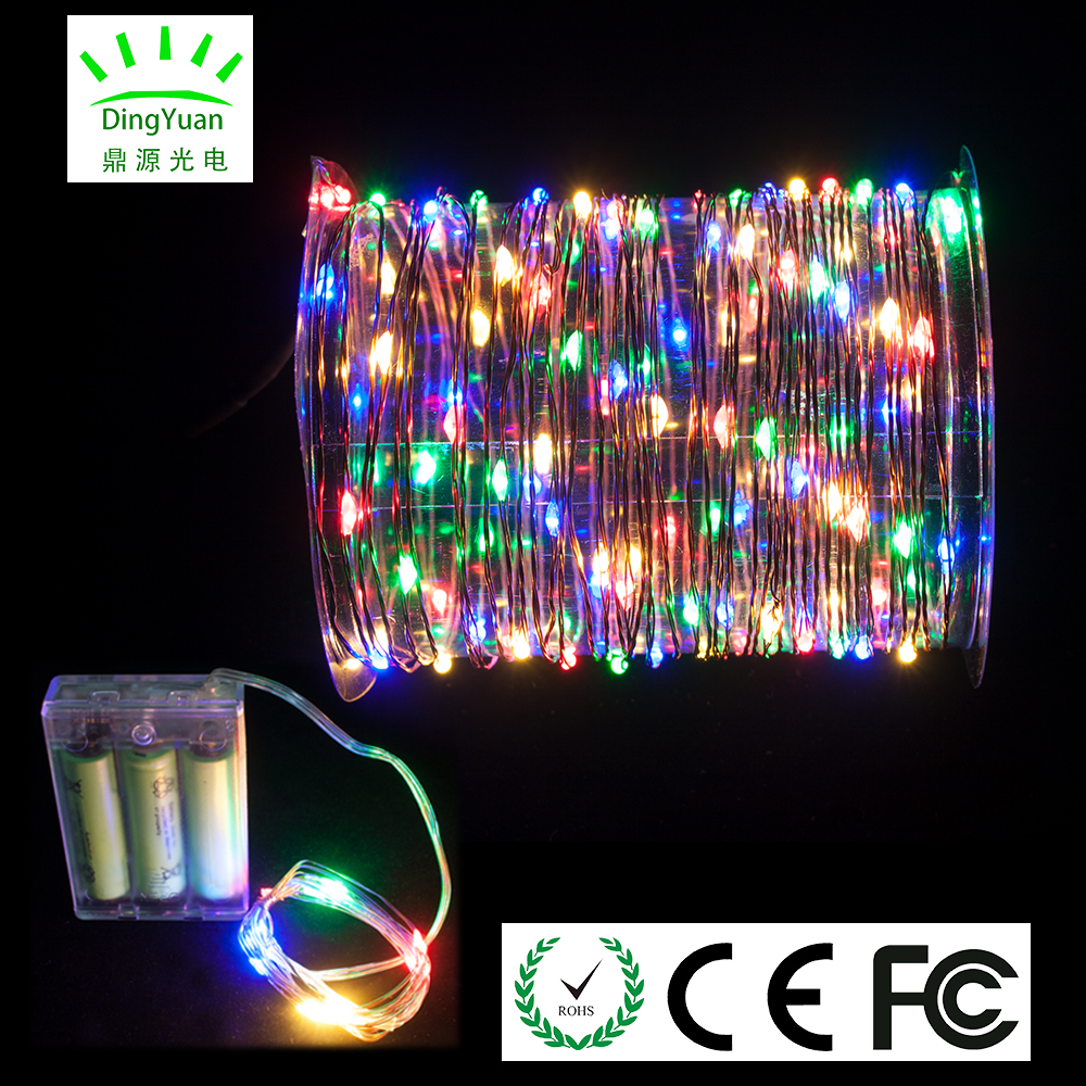 2017 trending products 4 multicolors 2m 20 L light decoration party for festival and holiday decoration