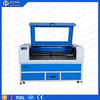 Huahai Cheap price wood pen 150W CO2 laser cutting/engraving machine