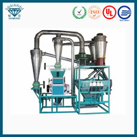 rice mill plant/flour mill machinery/beans flour