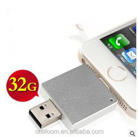 China supplier best selling otg usb flash drive,promotion gift otg usb pendrive for iPhone7 tablet computer