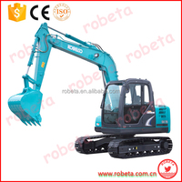 The Japan used crawler excavator kobelco sk75ur /crawler tractor mini