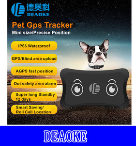 Pet GPS Tracker with Super long standby 12 days TK200
