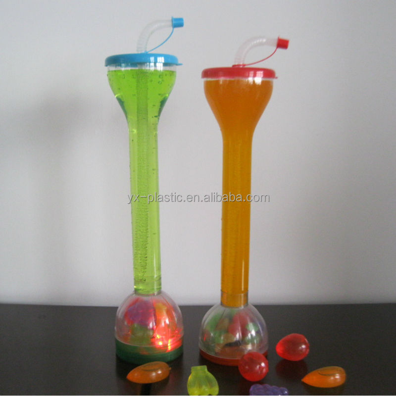 Novelty Plastic Drinking Cup With Bottom For Candy Storage