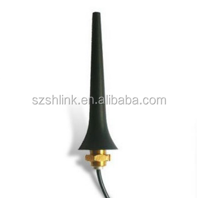 2.4GHz Antenna with Screwing Mounting 3dBi Gain, RG174 Cable, and SMA/SMB/BNC/FME/TNC Connector Type