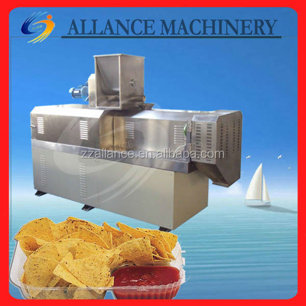 14 High Capacity Extruded Snacks Food Making Machine