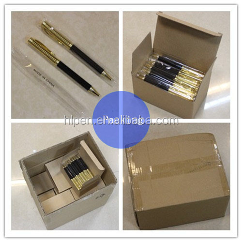 Newest Style Fashion Metal Gift Pen Gun Black Top-Level Luxury Pen