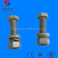 high strength 4.8 grade bolts and Nuts and washer