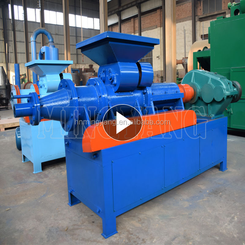 Mingyang machinery ISO CE Various shape and size coal charcoal briquette making machine 008615039052281