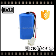 HOT JAPAN OEM factory 12v/11.1v lithium Rechargeable 12v 4400mah 18650 lithium ion battery pack