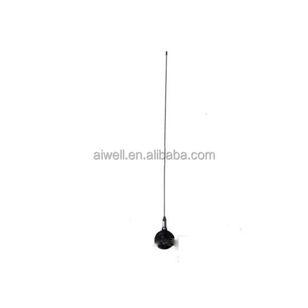 2016 Aiwell 88-108MHZ 2.5dBi magnetic base VHF UHF Omni car antenna for free samples