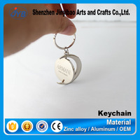 Direct factory cheap key chain Type and Zinc Alloy Metal Type blank metal custom keychains