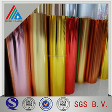 Cardboard laminating/paper laminating/gold metalized pet met polyester film