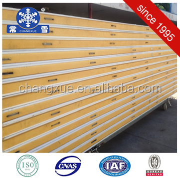 Low cost cold room insulation aluminum pu wall panel