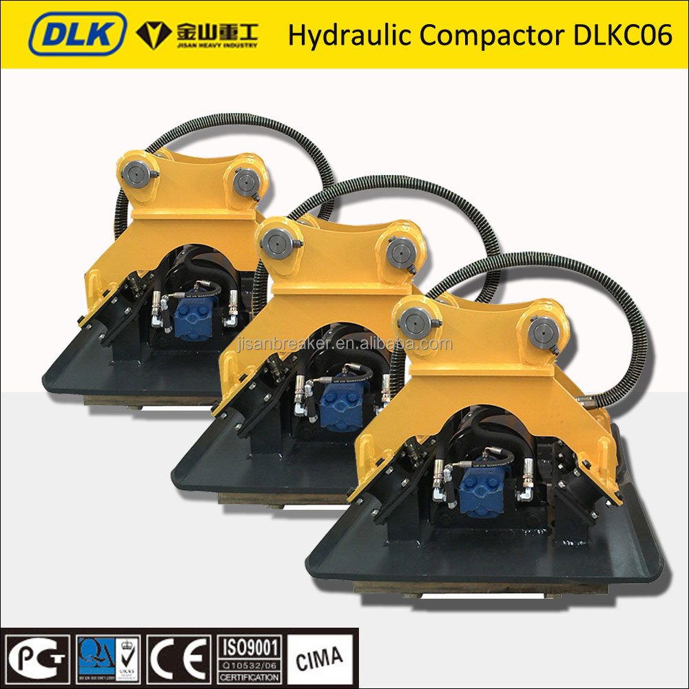 compactor for excavator good rubber competitive price