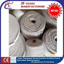 Braided ceramic fiber round/square/twisted rope for sealing gasket