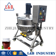 Wenzhou Jacketed kettle mixer/melting machine/sugar cooking jacketed kettle
