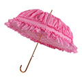 UK Market Wedding Princess Umbrella with Lace