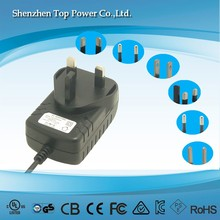 power supply 15w 12v dc power adapter 12v 1.25a US pug with UL CE certificate