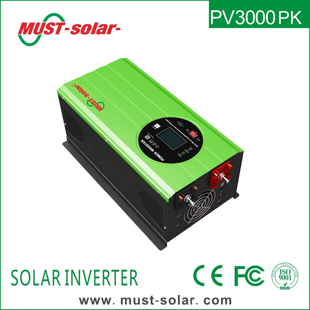 < Must Solar> PV3000 PK series pure sine wave 48v inverter 6kw solar energy system